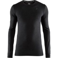 Craft Koszulka Sportowa Męska Fuseknit Comfort Ls Black Xxl. Czarne koszulki sportowe męskie Craft, na zimę, z długim rękawem. Za 135.00 zł.