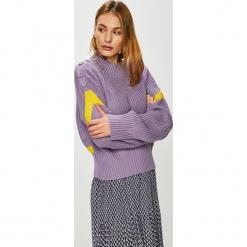 Trendyol - Sweter. Szare swetry damskie Trendyol, z dzianiny. Za 69.90 zł.