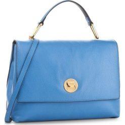 Torebka COCCINELLE - BD0 Liya E1 BD0 18 01 01 Azur/Bleu 763. Niebieskie torebki do ręki damskie Coccinelle, w ażurowe wzory, ze skóry. W wyprzedaży za 819.00 zł.