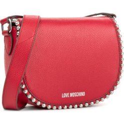 Torebka LOVE MOSCHINO - JC4125PP15L20500  Rosso. Czerwone listonoszki damskie Love Moschino, ze skóry. W wyprzedaży za 529.00 zł.