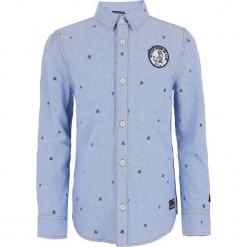 Koszula w kolorze niebieskim. Koszule dla chłopców marki bonprix. W wyprzedaży za 105.95 zł.