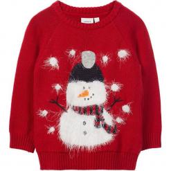 """Sweter """"Ral"""" w kolorze czerwonym. Swetry dla chłopców marki Reserved. W wyprzedaży za 42.95 zł."""