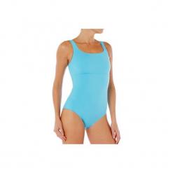 Strój pływacki jednoczęściowy Heva+ damski. Niebieskie kostiumy jednoczęściowe damskie NABAIJI. W wyprzedaży za 24.99 zł.