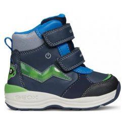 Geox Buty Zimowe Za Kostkę Chłopięce New Gulp 20 Niebieski. Niebieskie buty zimowe chłopięce Geox. Za 329.00 zł.