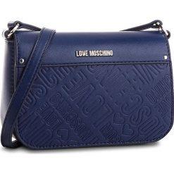 Torebka LOVE MOSCHINO - JC4028PP16LE0750  Blu. Niebieskie torebki do ręki damskie Love Moschino, ze skóry ekologicznej. Za 719.00 zł.