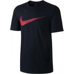 Nike Koszulka M Nsw Tee Hangtag Swoosh Black Sport Red Xs. Czarne t-shirty i topy dla dziewczynek Nike, z bawełny. Za 89.00 zł.