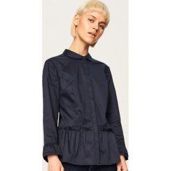 Koszula z baskinką - Granatowy. Koszule damskie marki SOLOGNAC. W wyprzedaży za 39.99 zł.