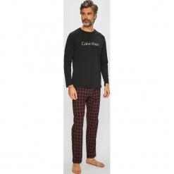 Calvin Klein Underwear - Piżama. Czarne piżamy męskie Calvin Klein Underwear, z bawełny. Za 299.90 zł.