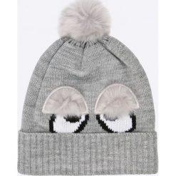Tally Weijl - Czapka. Szare czapki i kapelusze damskie TALLY WEIJL, z dzianiny. W wyprzedaży za 19.90 zł.