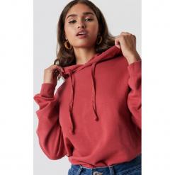 NA-KD Basic Bluza z kapturem basic - Red. Czerwone bluzy damskie NA-KD Basic. Za 100.95 zł.