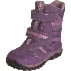 """Botki zimowe """"Alaska"""" w kolorze fioletowym. Botki dziewczęce marki Born2be. W wyprzedaży za 185.95 zł."""
