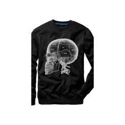 Bluza UNDERWORLD casual X-ray Skull. Czarne bluzy męskie Underworld, z nadrukiem, z bawełny. Za 119.99 zł.