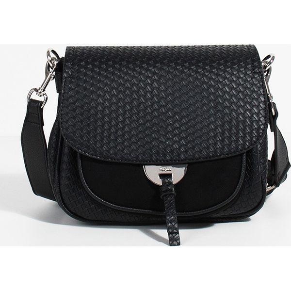 b6dd70cc4f897 Parfois - Torebka - Czarne torby na ramię damskie marki Parfois ...