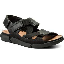 Sandały CLARKS - Trisand Sun 261332927 Black. Czarne sandały męskie Clarks, z materiału. W wyprzedaży za 239.00 zł.