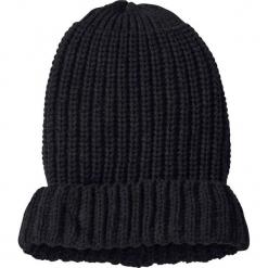 Czapka dzianinowa bonprix czarny. Czarne czapki i kapelusze damskie marki Sinsay. Za 16.99 zł.