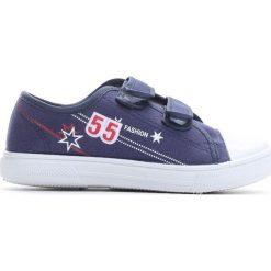 Granatowe Trampki Want You To Know. Niebieskie buty sportowe chłopięce Born2be, z materiału. Za 29.99 zł.
