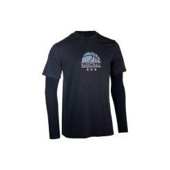 Koszulka Fast męska szara. Szare bluzki z długim rękawem męskie TARMAK. Za 69.99 zł.