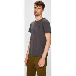U.S. Polo - T-shirt. Brązowe koszulki polo męskie U.S. Polo, z bawełny. W wyprzedaży za 139.90 zł.