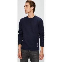 Tom Tailor Denim - Bluza. Czarne bluzy męskie Tom Tailor Denim, z bawełny. W wyprzedaży za 89.90 zł.