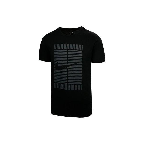 5c98d96884f T-Shirt Nike OZ czarny - T-shirty męskie Nike. W wyprzedaży za 69.99 ...