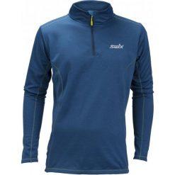 Swix Bluza Męska Cross Niebieski M. Niebieskie bluzy męskie Swix. Za 225.00 zł.