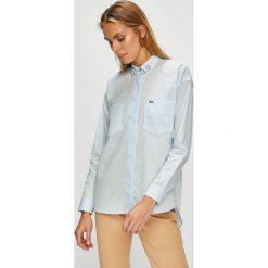 U.S. Polo - Koszula. Szare koszule damskie U.S. Polo, z bawełny, casualowe, z klasycznym kołnierzykiem, z długim rękawem. W wyprzedaży za 299.90 zł.