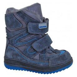 Protetika Buty Zimowe Za Kostkę Chłopięce Fari 21 Niebieski. Niebieskie buty zimowe chłopięce Protetika, z futra. Za 175.00 zł.