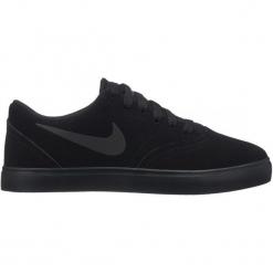 Nike Tenisówki Chłopięce Sb Check Suede 38 Czarne. Czarne buty sportowe chłopięce Nike. Za 229.00 zł.