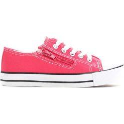 Różowe Trampki Made Off. Czerwone buty sportowe dziewczęce Born2be, na lato, z materiału. Za 24.99 zł.