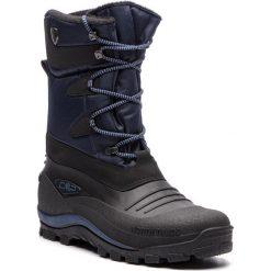 Śniegowce CMP - Nietos 3Q47867 B.Blue N950. Czarne śniegowce i trapery męskie CMP, z materiału. Za 299.99 zł.