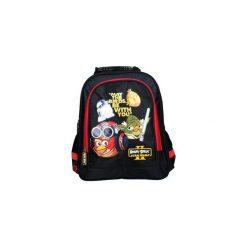 Plecak szkolny Angry Birds/2. Czarne torby i plecaki dziecięce MAJEWSKI, z materiału. Za 114.43 zł.