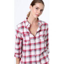 Etam - Koszula piżamowa Chimmy. Szare piżamy damskie Etam, z bawełny. W wyprzedaży za 59.90 zł.