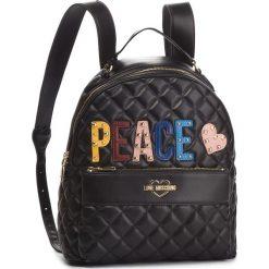 Plecak LOVE MOSCHINO - JC4227PP06KC0000 Nero. Czarne plecaki damskie MOSCHINO, ze skóry ekologicznej. Za 929.00 zł.