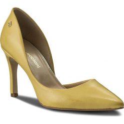 Szpilki MACCIONI - 974.050.7635 Żółty. Żółte szpilki damskie Maccioni, ze skóry. W wyprzedaży za 199.00 zł.