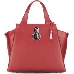 Torebka damska 87-4E-005-3. Czerwone torebki do ręki damskie Wittchen, w paski. Za 999.00 zł.