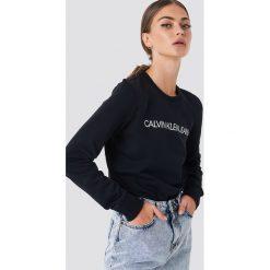 8b4f3c4b7c9f5 Calvin Klein Bluza Institutional Logo - Black. Bluzy damskie marki Calvin  Klein.