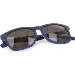 Okulary przeciwsłoneczne BOSS - 0317/S Matt Blue RCT. Niebieskie okulary przeciwsłoneczne damskie Boss, z tworzywa sztucznego. W wyprzedaży za 379.00 zł.