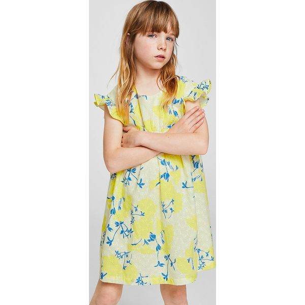 cd3d8ce0dc Mango Kids - Sukienka dziecięca Hilda 110-152 cm - Sukienki dla ...