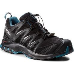 Buty SALOMON - Xa Pro 3D Gtx Nocturne GORE-TEX 404745 30 V0 Black/Black/Mallard Blue. Czarne buty sportowe męskie Salomon, z gore-texu. W wyprzedaży za 519.00 zł.