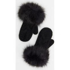 Rękawiczki - Czarny. Czarne rękawiczki damskie Reserved. Za 49.99 zł.