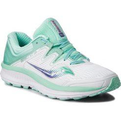 Buty SAUCONY - Guide Iso S10415-35 Wht/Aqu. Białe obuwie sportowe damskie Saucony, z gumy. W wyprzedaży za 459.00 zł.