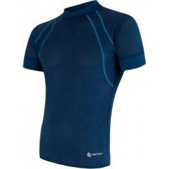 Sensor Męska Koszulka Coolmax Air Blue  L. Niebieskie koszulki sportowe męskie Sensor, z krótkim rękawem. Za 125.00 zł.