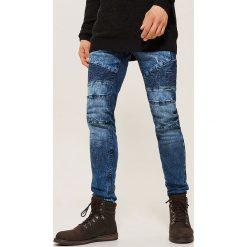 Jeansy skinny - Niebieski. Niebieskie jeansy męskie House. Za 139.99 zł.