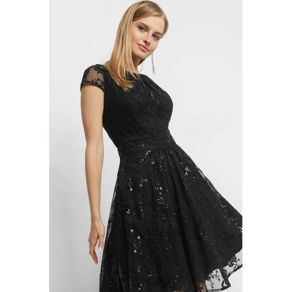 64ad424d18 Rozkloszowana sukienka z tiulu - Czarne sukienki damskie marki Orsay ...