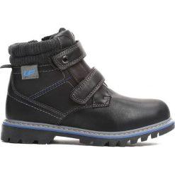 Czarne Traperki Suburbanite. Czarne buty zimowe chłopięce Born2be, z materiału. Za 69.99 zł.