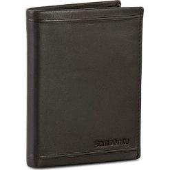 Duży Portfel Męski SAMSONITE - 001-01460-0266-1 Black. Czarne portfele męskie Samsonite, ze skóry. Za 169.00 zł.