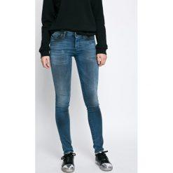 Diesel - Jeansy. Niebieskie jeansy damskie Diesel. W wyprzedaży za 649.90 zł.