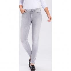 """Dżinsy """"Alan"""" - Skinny fit - w kolorze jasnoszarym. Szare jeansy damskie Cross Jeans. W wyprzedaży za 113.95 zł."""