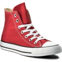 Trampki CONVERSE - All Star Hi M9621C Red. Czerwone trampki męskie Converse, z gumy. W wyprzedaży za 229.00 zł.