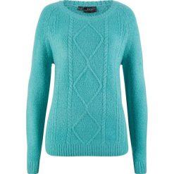 Sweter bonprix zieleń morska. Swetry damskie marki KALENJI. Za 59.99 zł.